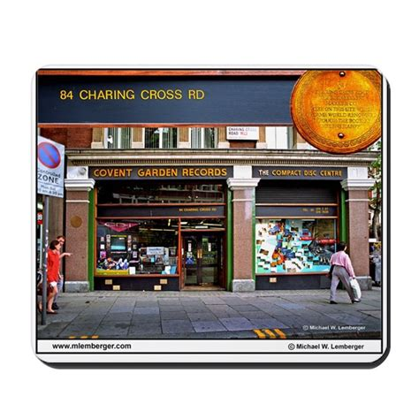 84 charing cross road 8433961292 84 charing cross road london book store mousepad by mlemberger