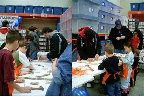 home depot workshop with the january 16 guelph