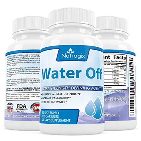 Shed Excess Water save 44 natrogix 100 herbal water away lose weight