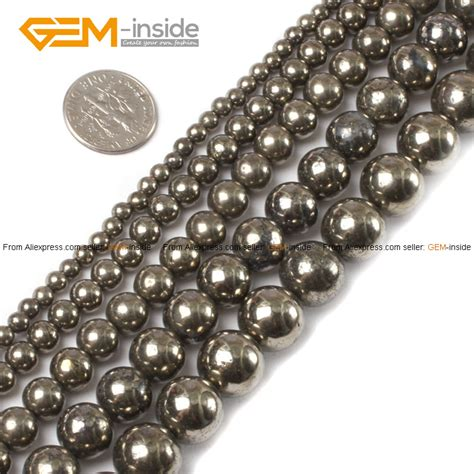 where to buy stones to make jewelry aliexpress buy silver gray pyrite