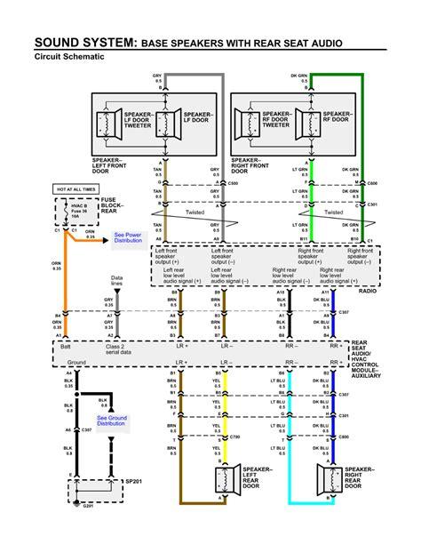 2006 isuzu ascender wiring diagrams 2008 gmc envoy wiring