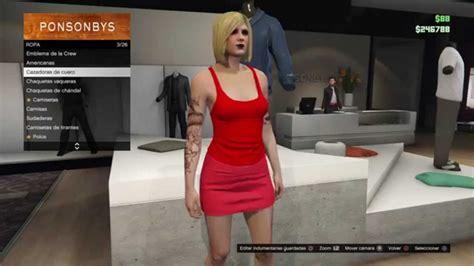 la chica de los 1533662614 gta v online 1 28 glitch chicas sin sujetador youtube