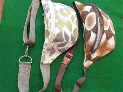 fanny pack tutorial hip bags tutorial blog post is in polish fanny pack