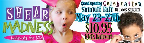 grand opening of a lee s summit home decor store and shear madness haircuts for kids