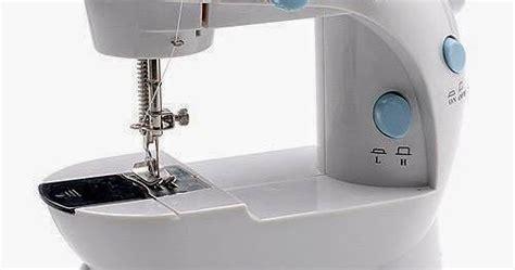 Mesin Jahit Mini Sewing Machine Portable Bagus Murah Multifungsi New cara menggunakan mesin jahit mini portable s2