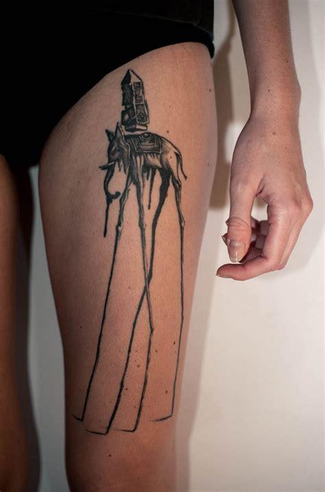 dali elephant tattoo 25 cool dali elephant tattoos