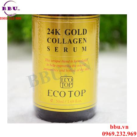 Serum Gold Collagen serum 24k gold collagen ecotop