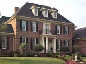 colonial brick homes old brick colonial homes red brick colonial homes
