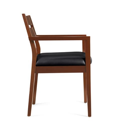 Wood Frame Chair wood frame guest chair carolina office xchange