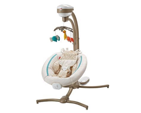 fisher price calming vibrations swing fisher price soothing savanna cradle n swing with calming