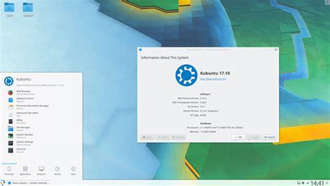 Linux Kubuntu 17 04 Desktop 64 Bit kubuntu 17 10 artful aardvark is released kubuntu