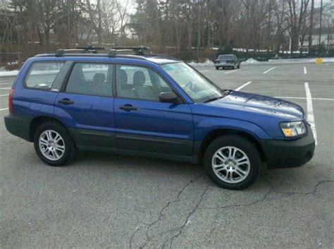 blue subaru forester 2003 purchase used 2003 subaru forester in pelham york