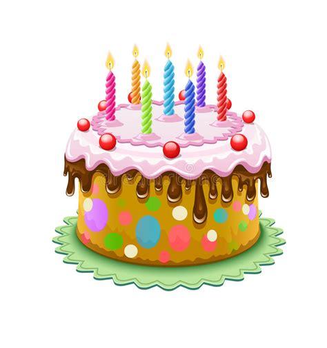 Torta De Cumplea 241 Os Con Las Velas Del Cumplea 241 Os | torta de cumplea 241 os con las velas ardientes ilustraci 243 n