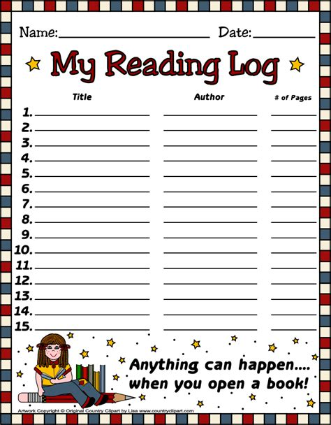 printable march reading log reading log printables new calendar template site