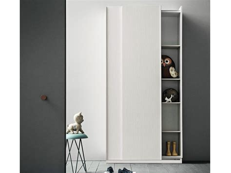 Slim Sliding Door Wardrobe slim wooden wardrobe by birex