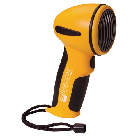 handheld boat horn innovative lighting handheld electronic horn yellow