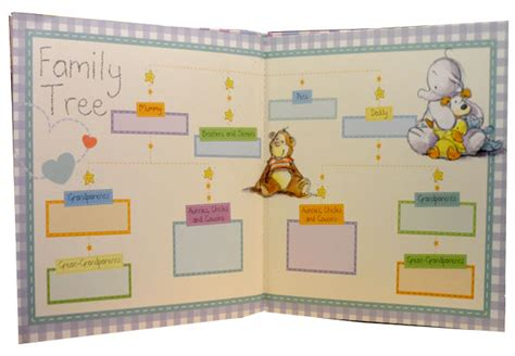 family picture book for baby photo album memory humphrey my baby a year diary