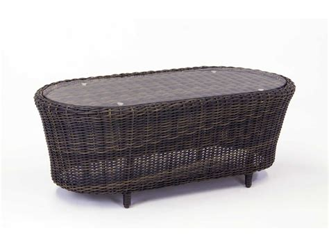 south sea rattan wicker 39 x 26 oval coffee