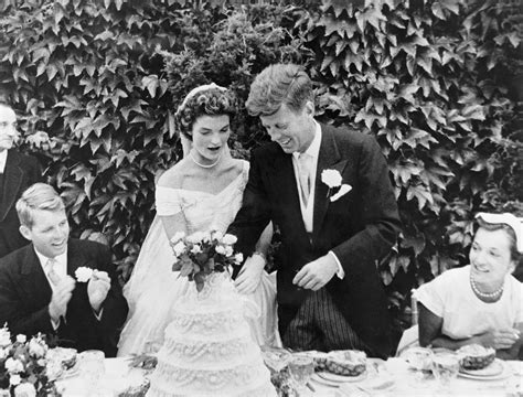 Wedding F by Jackie Kennedy And F Kennedy S Wedding Album Photos