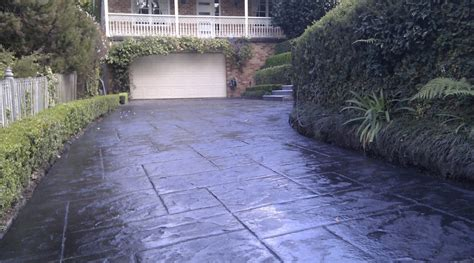 Stamped Concrete  Make your Driveway Look Elegant and