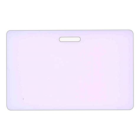 make your own plastic card blank plastic make your own horizontal badge card