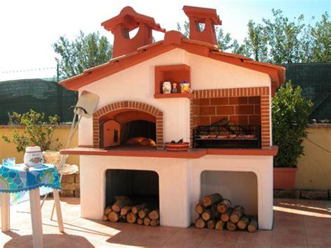 forno da terrazzo barbecue con forno roma