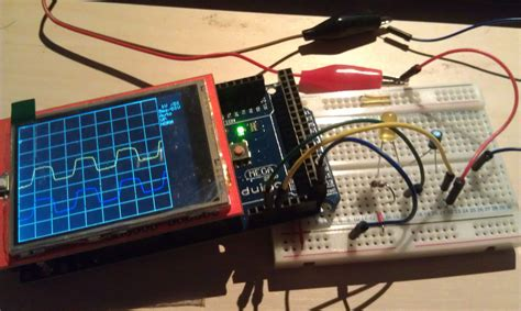 diy electronic decorations diy oscilloscope with arduino uno and mega tech