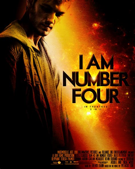 i am number four merchandise i am number four i am number four movie poster by mademoiselle art on