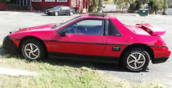 1986 Pontiac Fiero Value 1986 Pontiac Fiero Se Coupe 2 Door 2 8l For Sale Photos