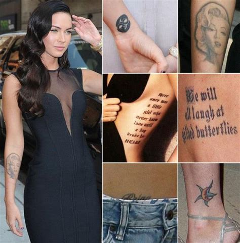 megan fox marilyn tattoo 45 tattoos for 2015 amazing ideas
