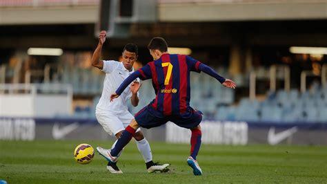 barcelona academy nike academy vs fc barcelona youtube