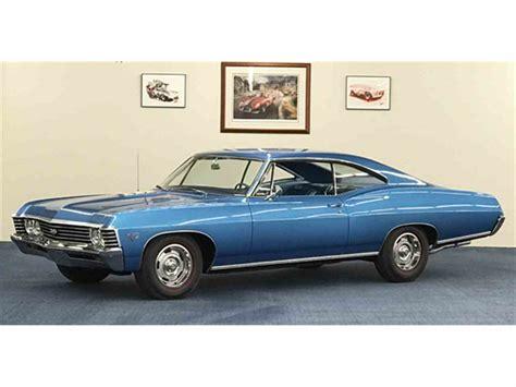 1967 chevy impala price 1967 chevrolet impala for sale classiccars cc 934570