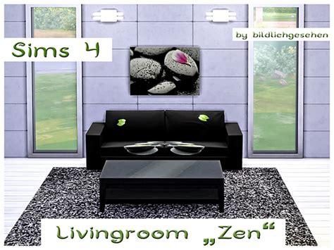 Zen Living Room Furniture Zen Livingroom By Bildlichgesehen At Akisima 187 Sims 4 Updates