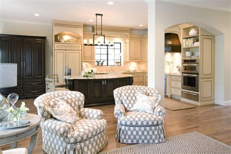 kitchen and family room designs how to decorate a kitchen dining room and family room