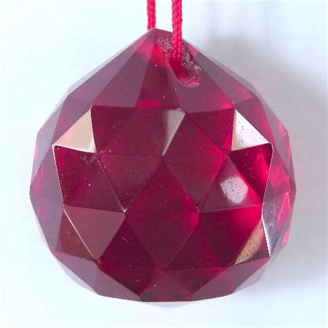 Feng Shui Affiliate Programs by Red Hanging Crystal Balls