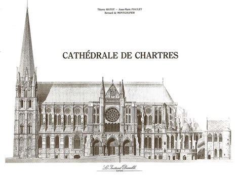 Westminster Abbey Floor Plan by Brochure From Chartres Cathedral Paper Model Cath 233 Drale