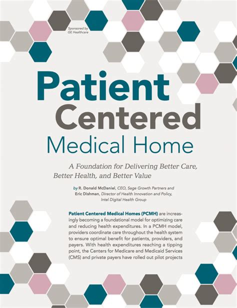 patient centered home a foundation for delivering