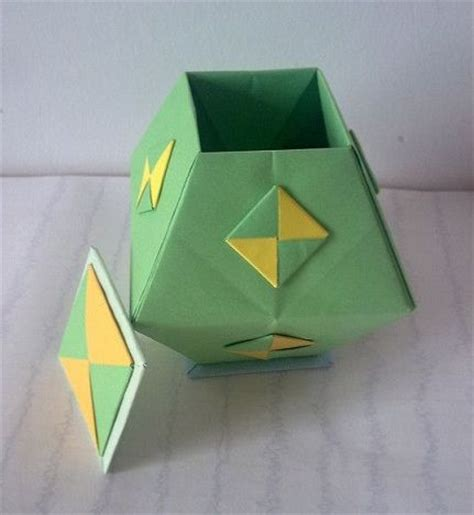 Applications Of Origami - origami box trapezoidal auf der suche nach dem diagram