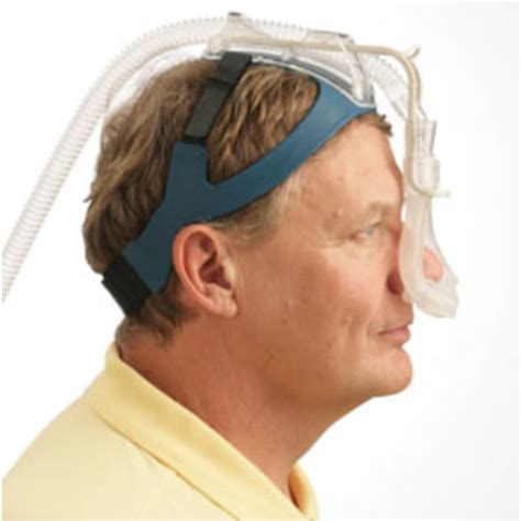 cpap headrest nasal pillow cpap mask with headgear