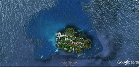antigua  barbuda carte