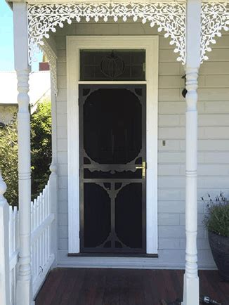 period style security doors superior door company