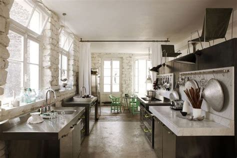 Parisian Kitchen Design Eclectic Trends Navone S Parisian Apartment Eclectic Trends