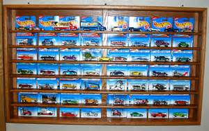 Hot Wheels Card Display Case by OakCollection on Etsy