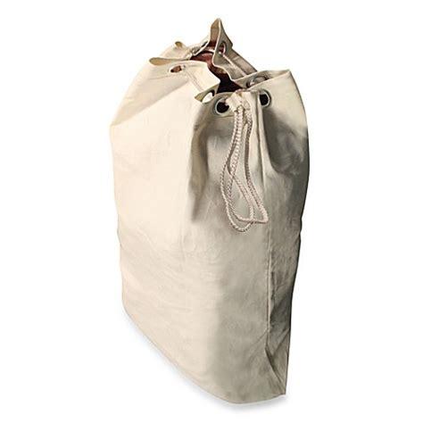 Heavy Duty Natural Canvas Laundry Bag Bed Bath Beyond Canvas Laundry Bag
