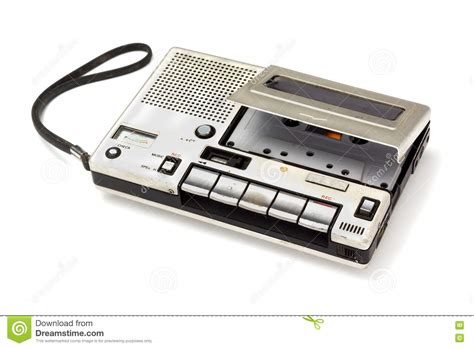 audio cassette player cassette player stock photo image 71944024