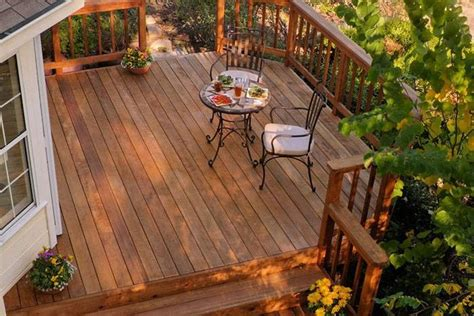 small yard deck landscaping gardening ideas