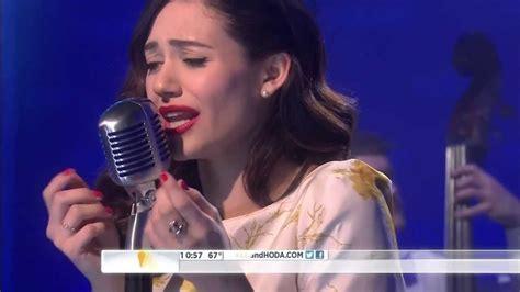 emmy rossum live emmy rossum sings a foolish song youtube