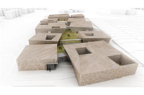 design village competition day care village competition entry praud archdaily