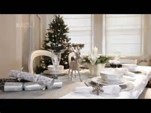 Winter Wonderland Decorations To Make - how to set a table this christmas marks and spencer 2011 youtube