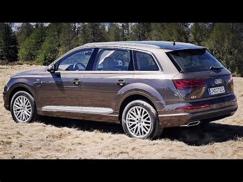 new audi q7 review (2015) youtube